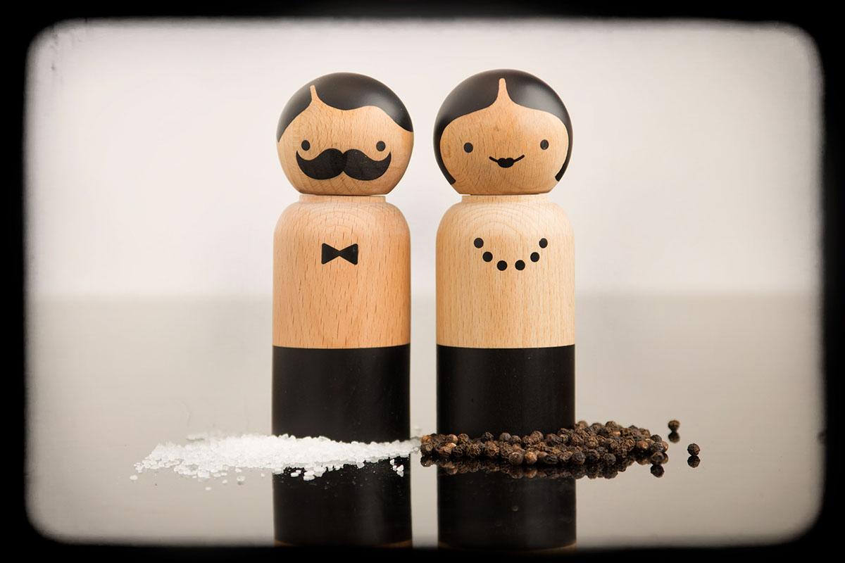 mr salt and mrs pepper