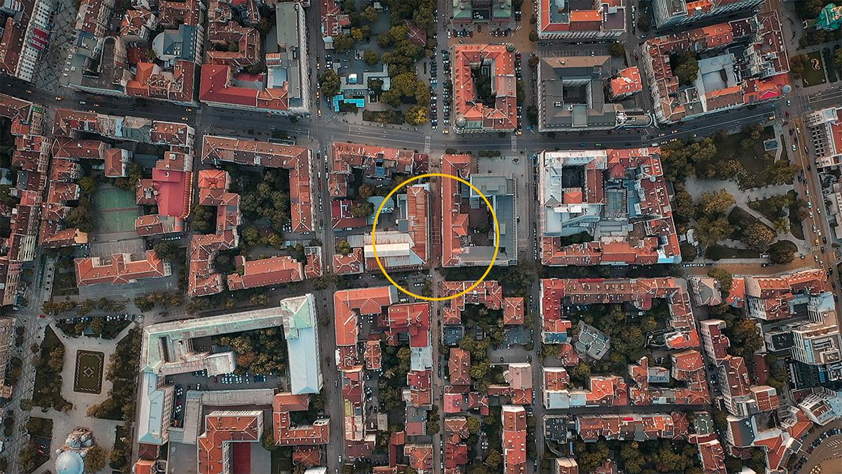 teniss sofia bulgaria Aerial Photography  DJI ivanvazovopen
