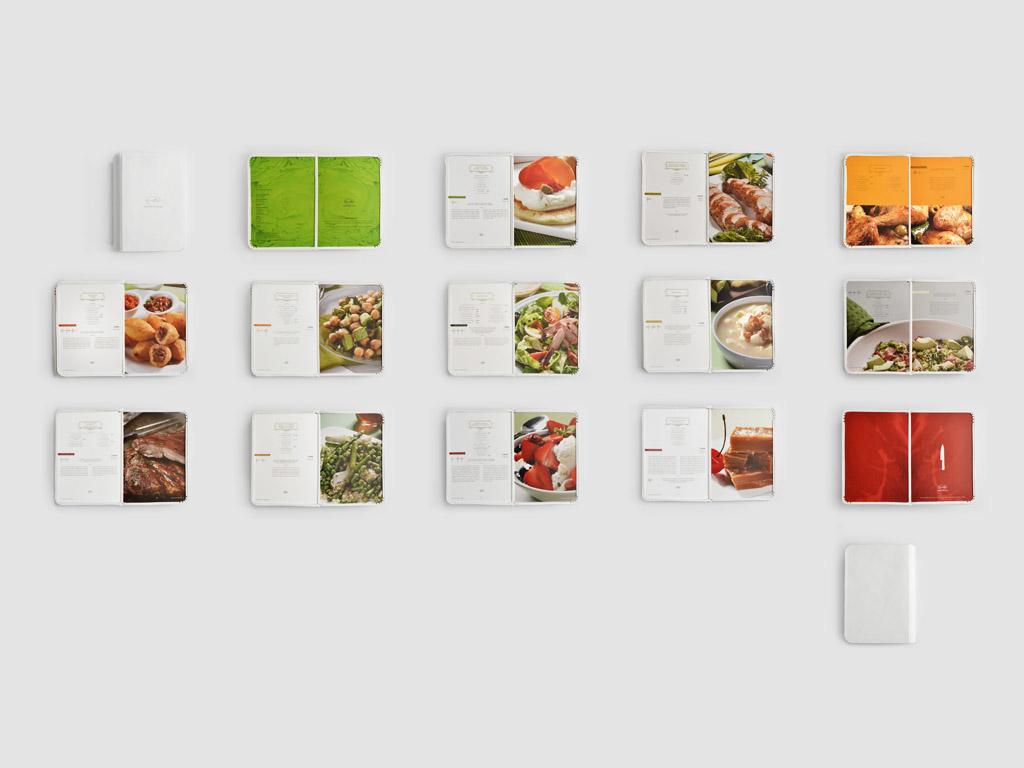 cookbook book Carulla colombia Slice a recipe Recetas para cortar