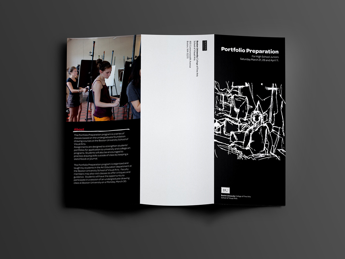 Boston University School Of Visual Arts Graphic Design
