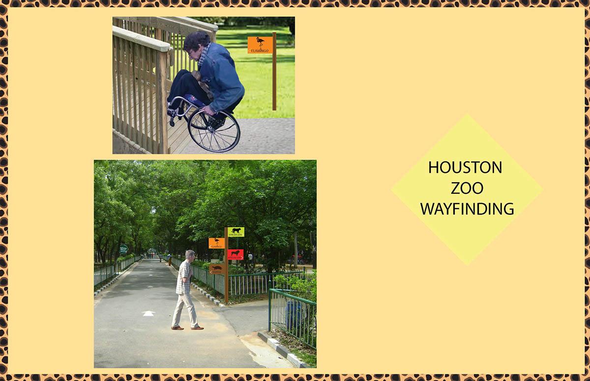 Houston Zoo Map on Behance
