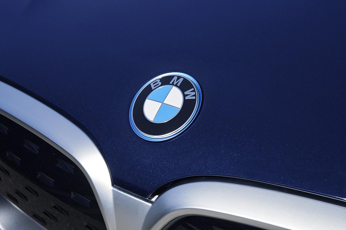 art direction  automotive   BMW capture one car photography electric iX3 photoshop retouching  Urban