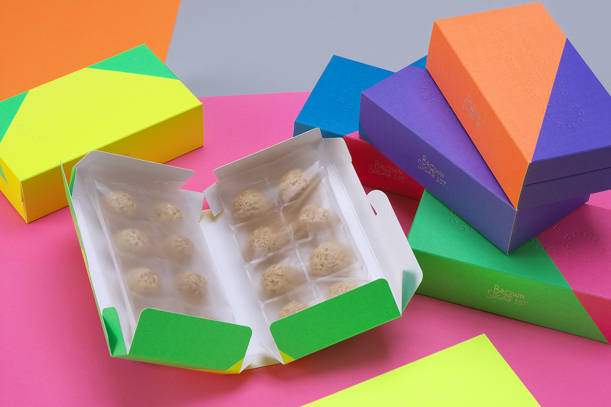 +fashion+ Sweets cookie organic pop colorful gift box