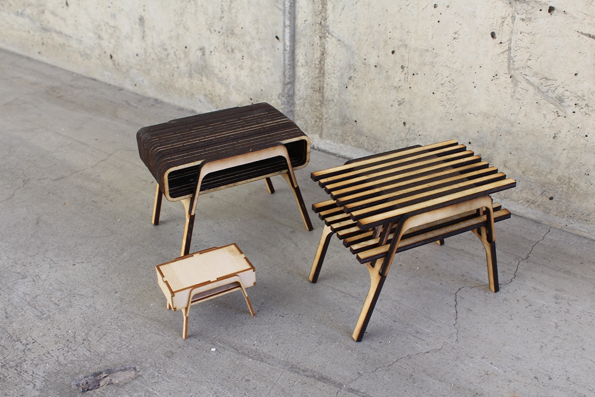 Cnc Furniture Design On Behance
