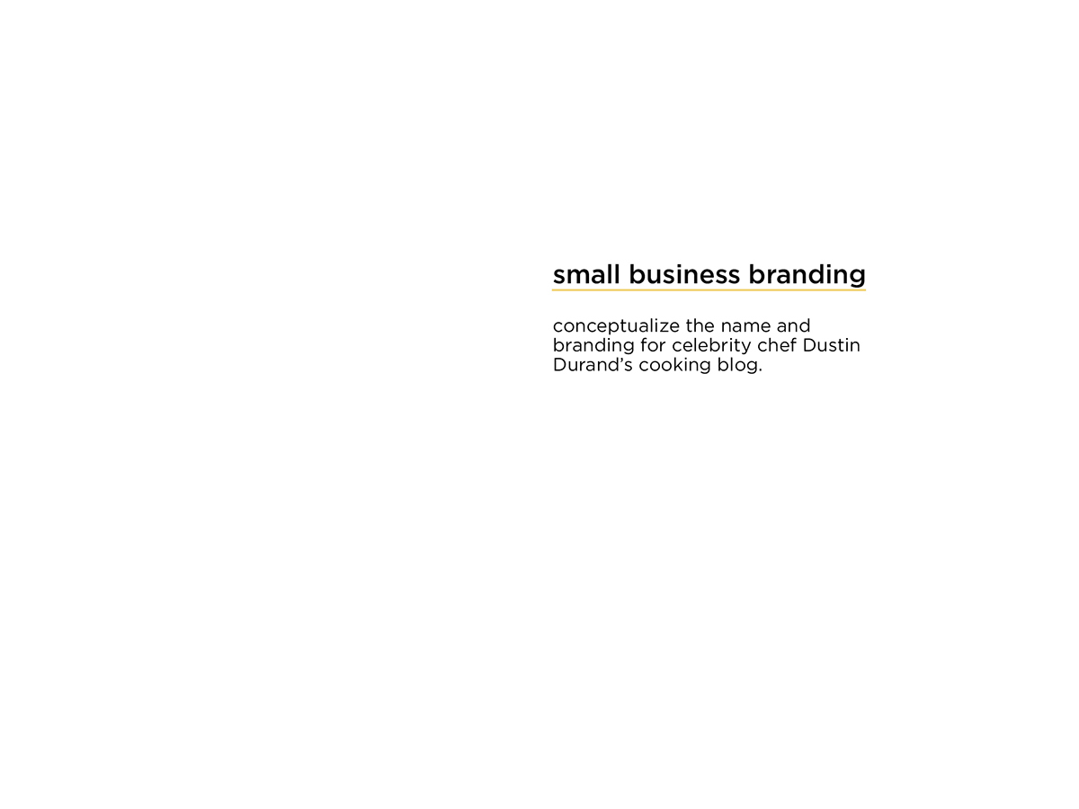 Cooking Blog Small Business Dustin Durand Food  food blog Blog