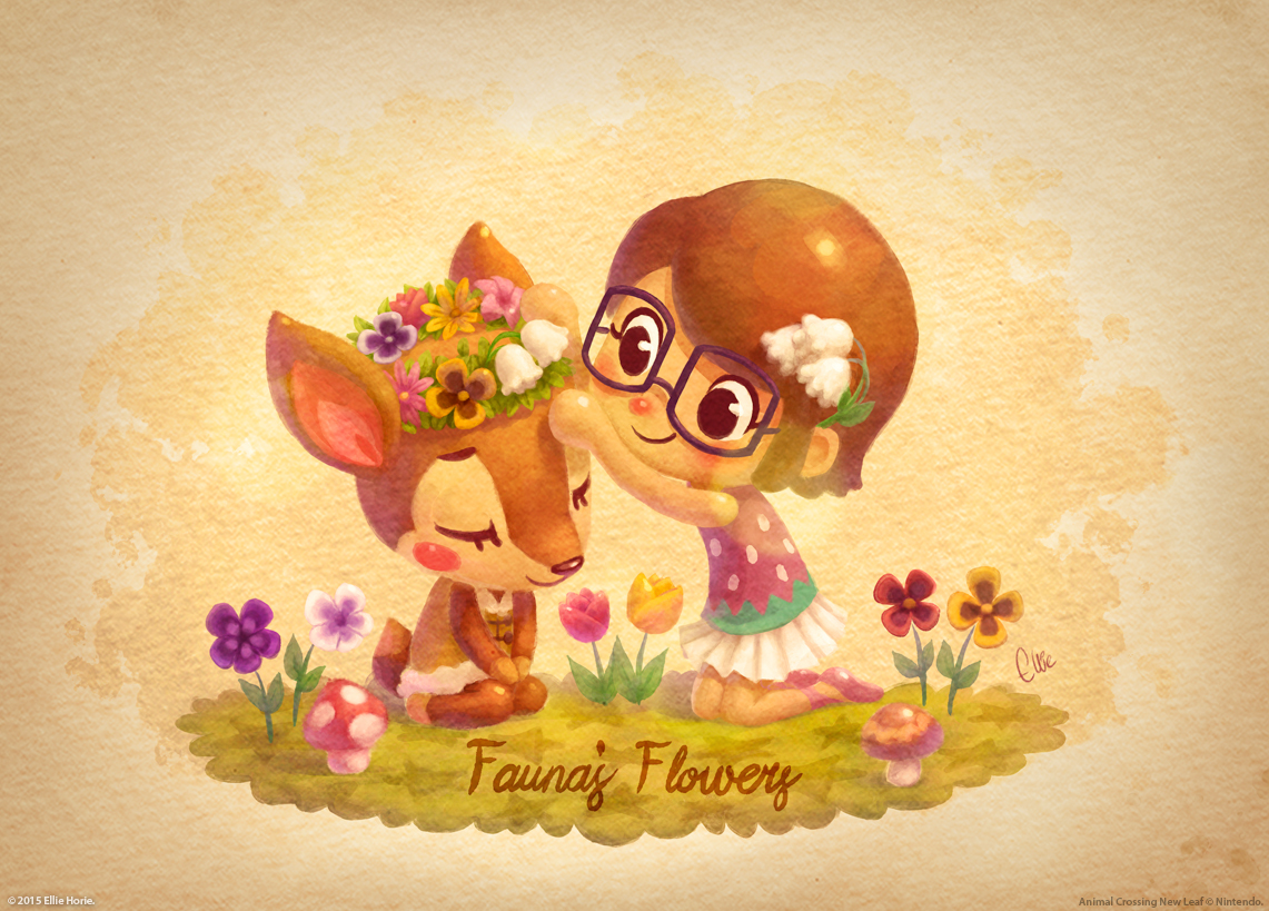 Animal crossing fanarts on behance for Animal crossing mural