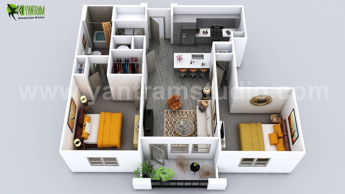 Prime Luxuries 3D Home Virtual Floor Plan Design On Behance Download Free Architecture Designs Intelgarnamadebymaigaardcom