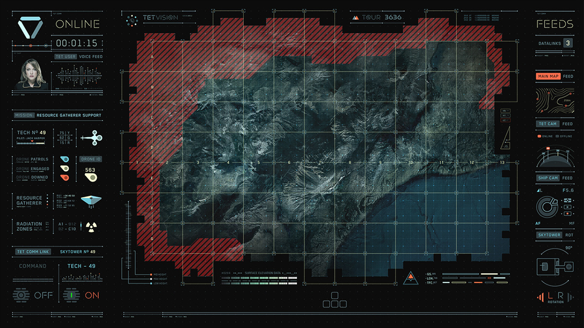 Oblivion gfx on behance team designing another map diagnostic screen on a milky white breakfast table top and a few key standalone windows that were analyzing rogue signal gumiabroncs Choice Image