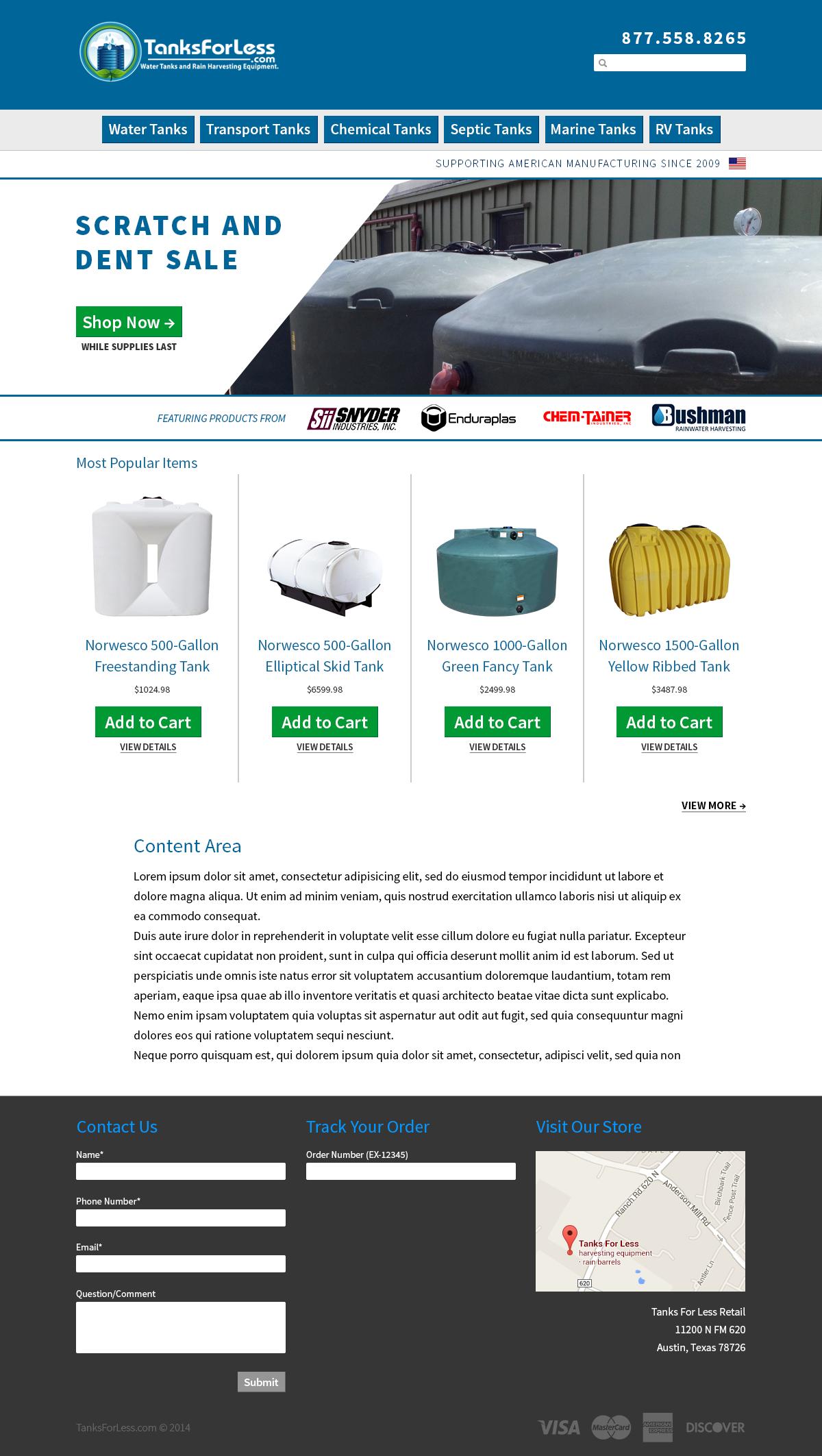 Ecommerce Website type
