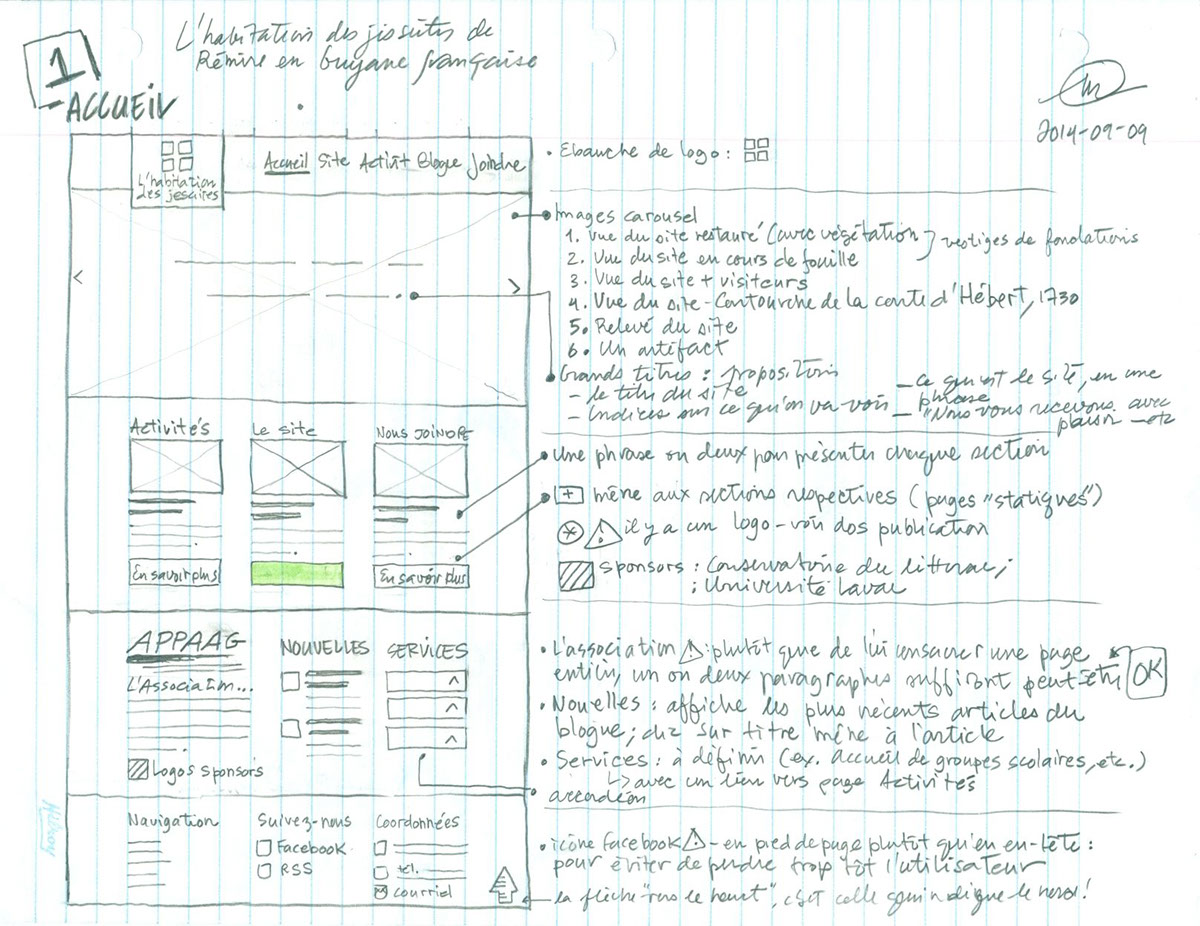 design programmation Conception