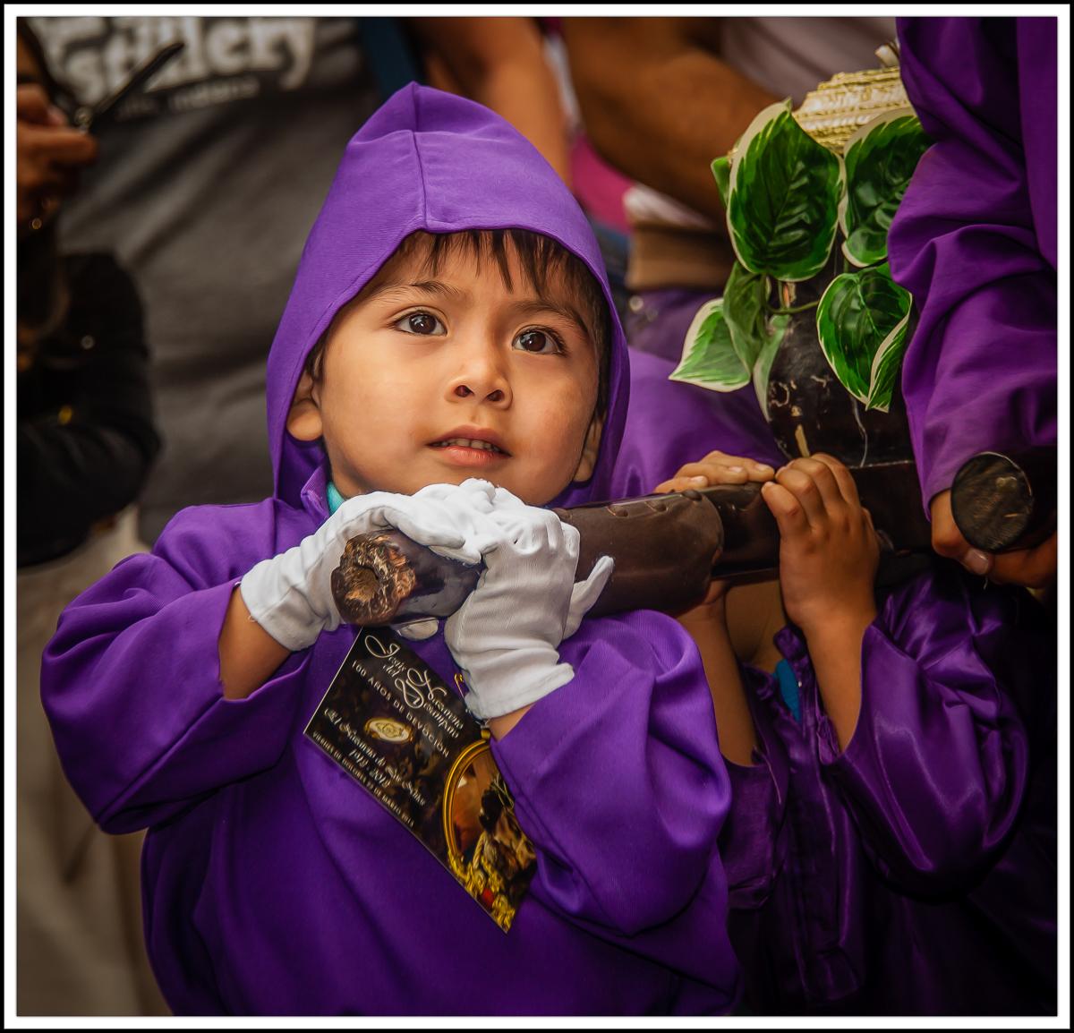 Semana Santa Child
