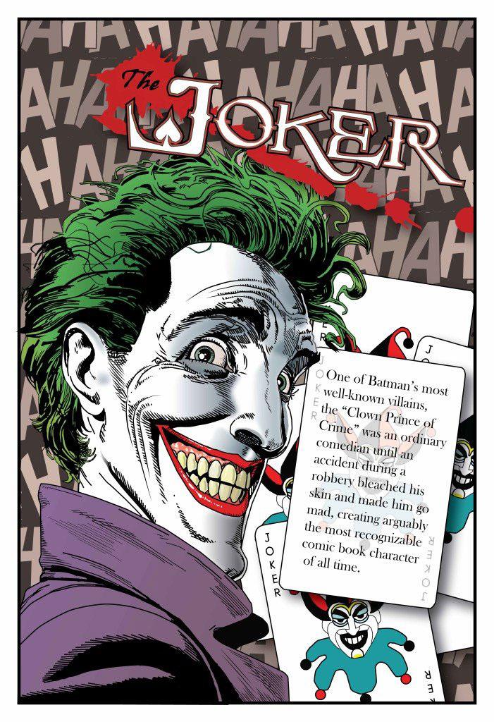 Joker Comic Reconstruction On Behance