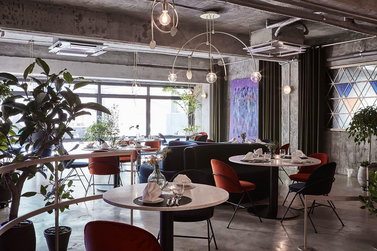CHANOU FRENCH BISTRO Bistro Interior Design On Behance