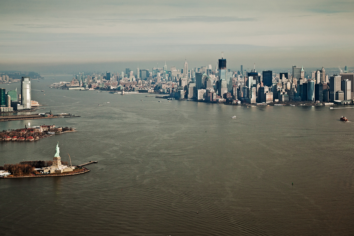 Aerial Landscape clouds above helicopter plane Nature Ocean New York Manhattan dubai chicago arizona cityscape structure