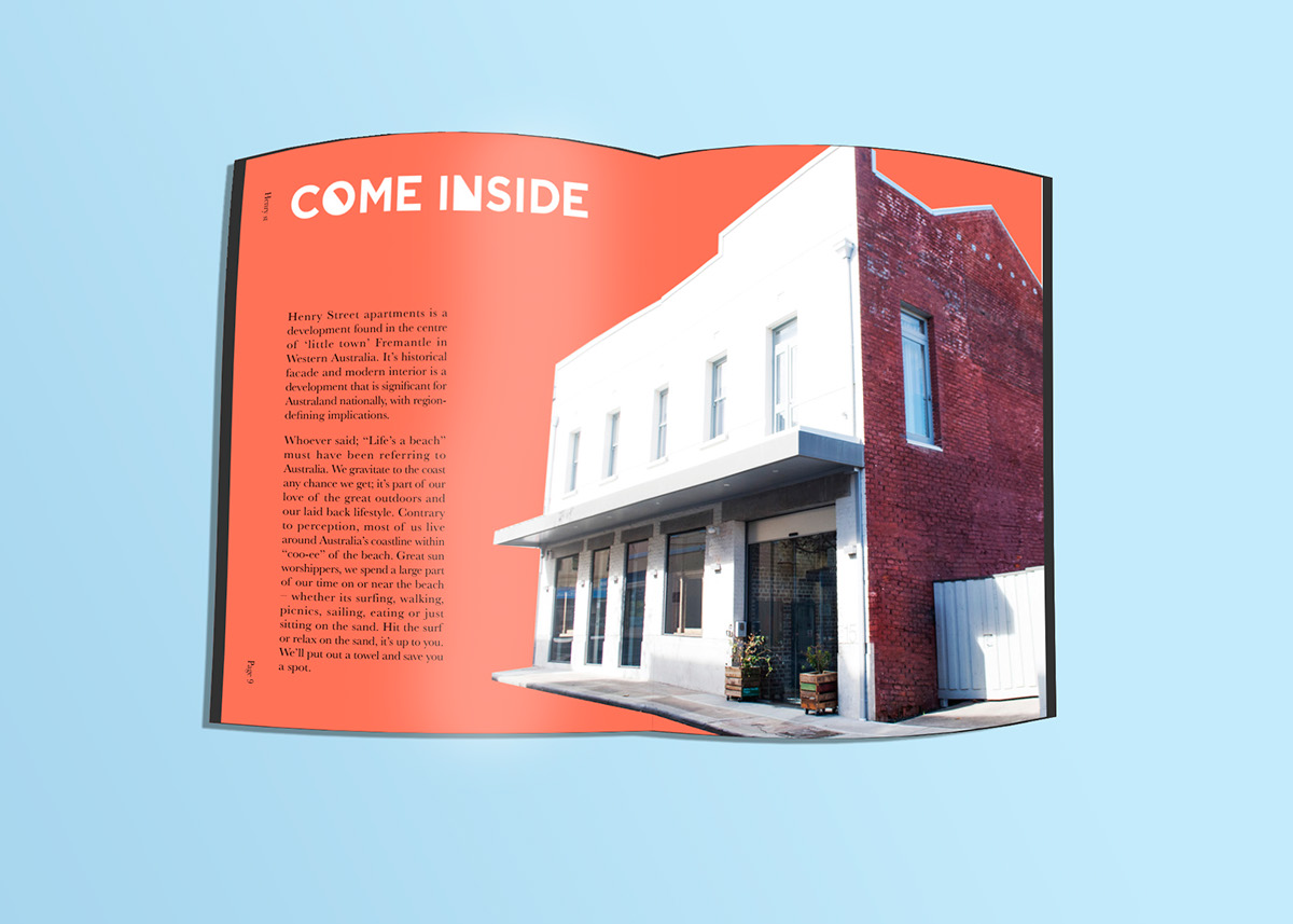 design property marketing   apartments fremantle living Fun coastal lifestyle Colourful  Dynamic
