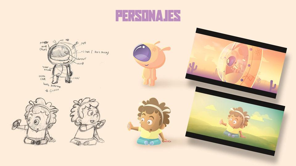 alien animated shorfilm aureafx Jo Garcia Jorge Garcia learning to fly peru saucer shortfilm Space