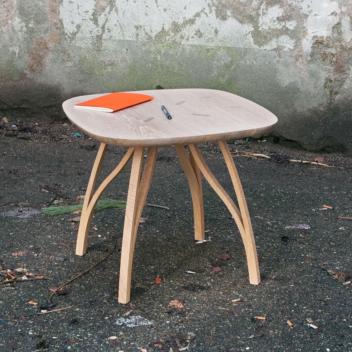 design strasbourg table bois eco-design mobilier produit alain froehlicher france université artisanat ébénisterie meuble fait main