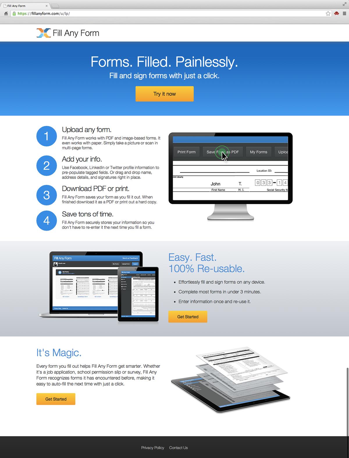 Adobe Document Cloud on Behance