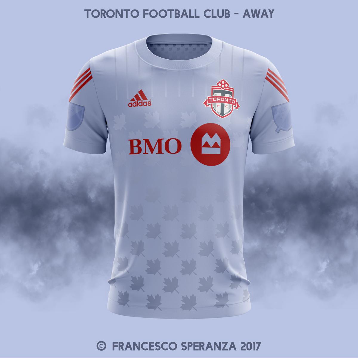 hot sale online efad6 b0201 Toronto Football Club - home & away 2018/2019 MLS on Behance