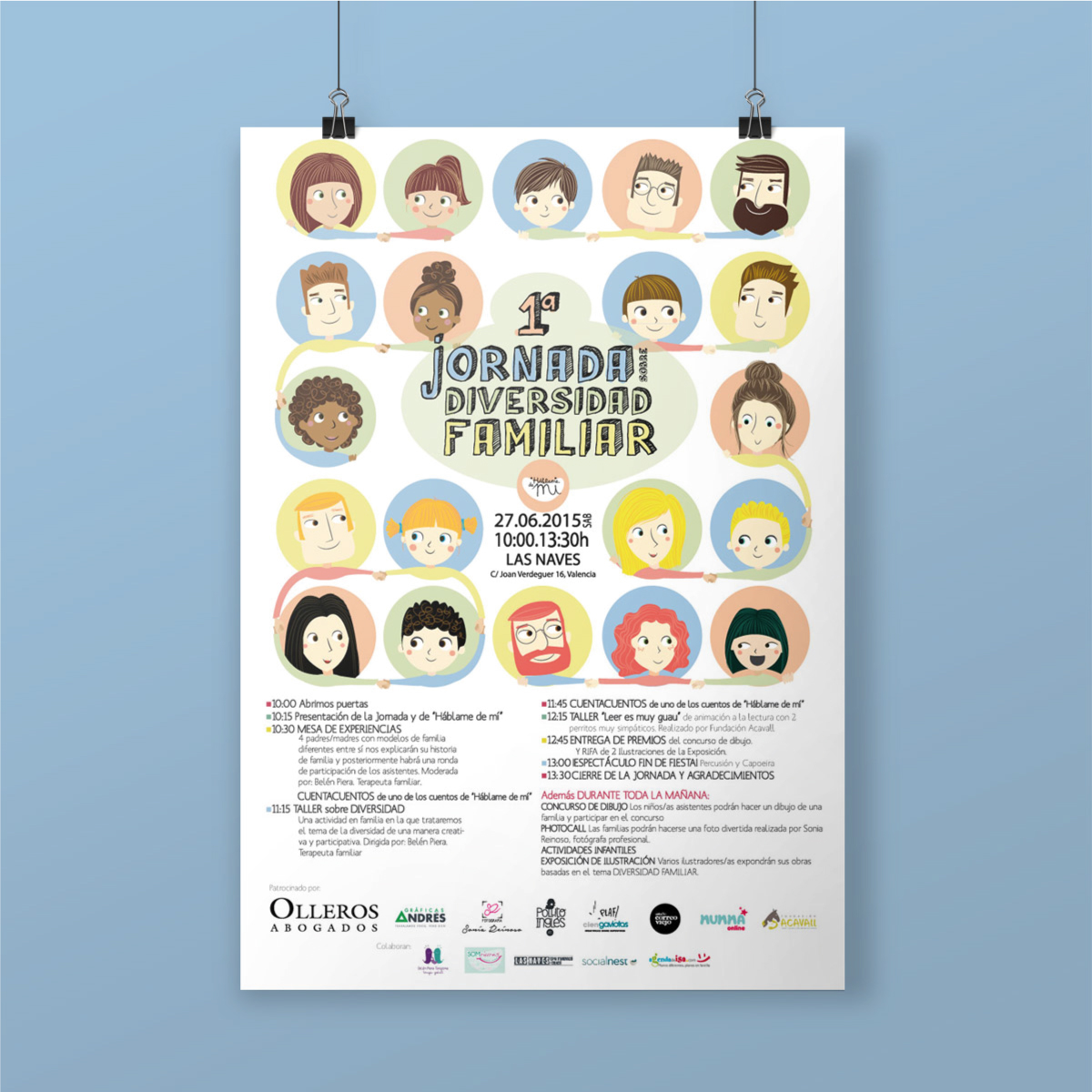 Diseño imagen evento diseño señalética diseño cartel diseño flyers