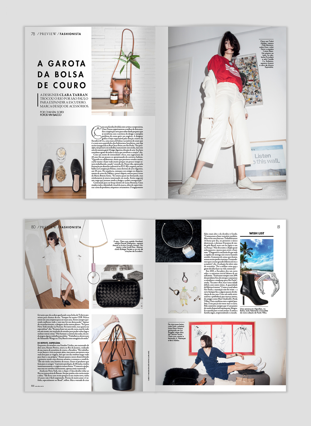 4ace3261dbe ELLE Magazine on Behance
