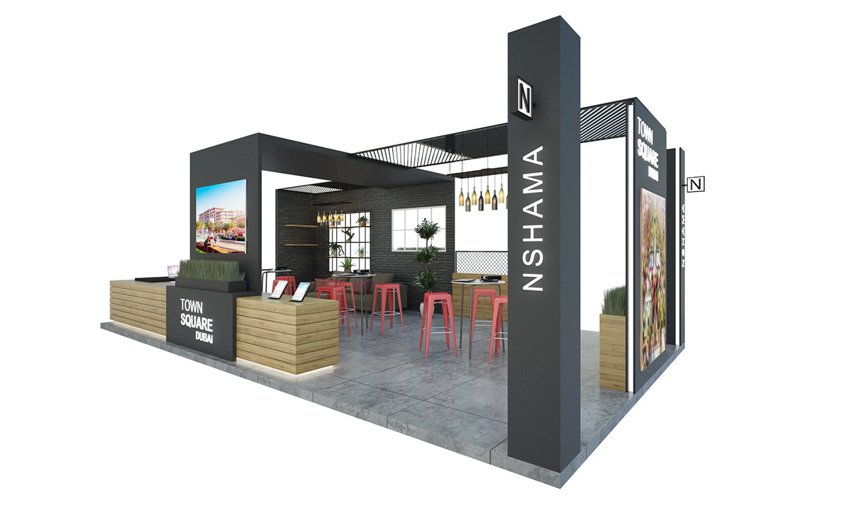 Exhibition Stand Sales Jobs : Downtown exhibition stand on student show