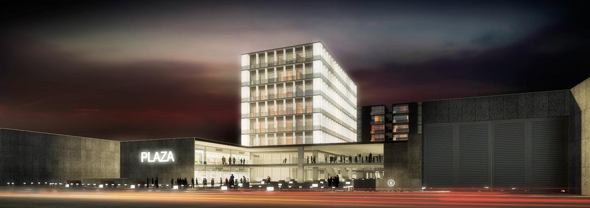 Concurso de arquitectura vivienda comercio oficinas on for Oficinas de arquitectura