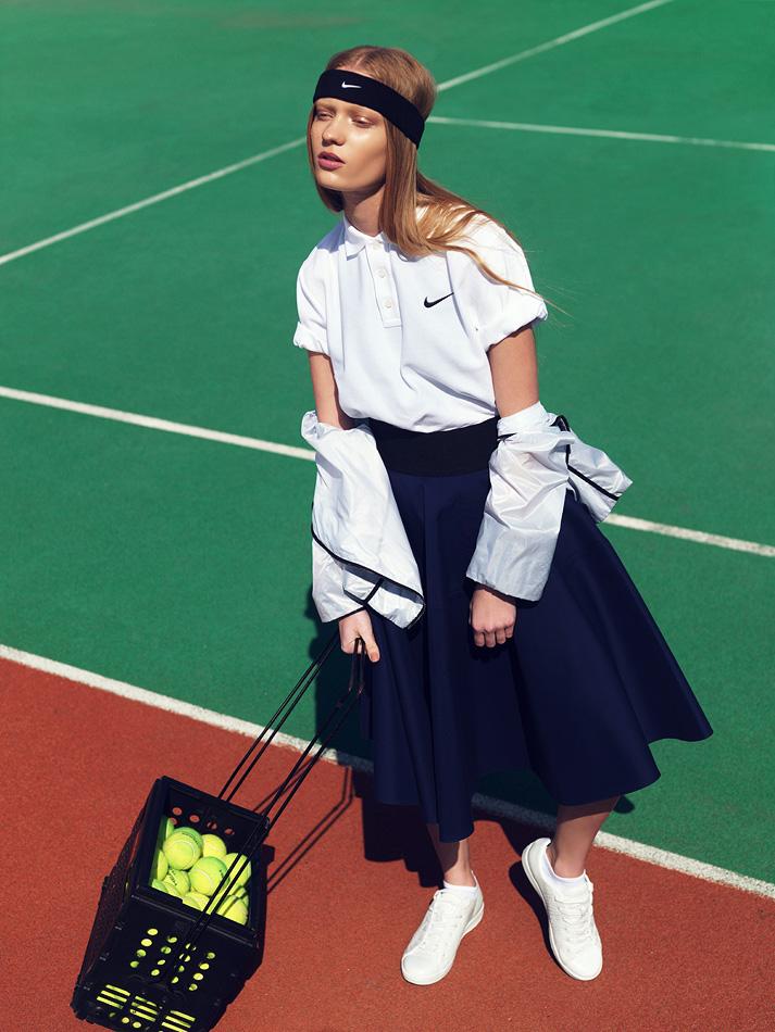 Nike Editorial In Fashion Magazine I Magazine Uk Fashion Beauty
