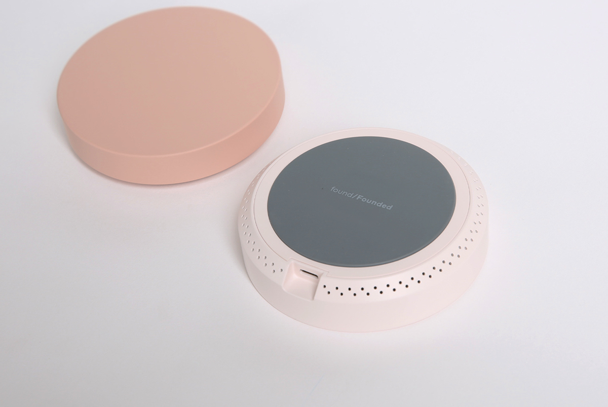 Interior IoT deisgn product speaker lighting foundfounded object Samsung