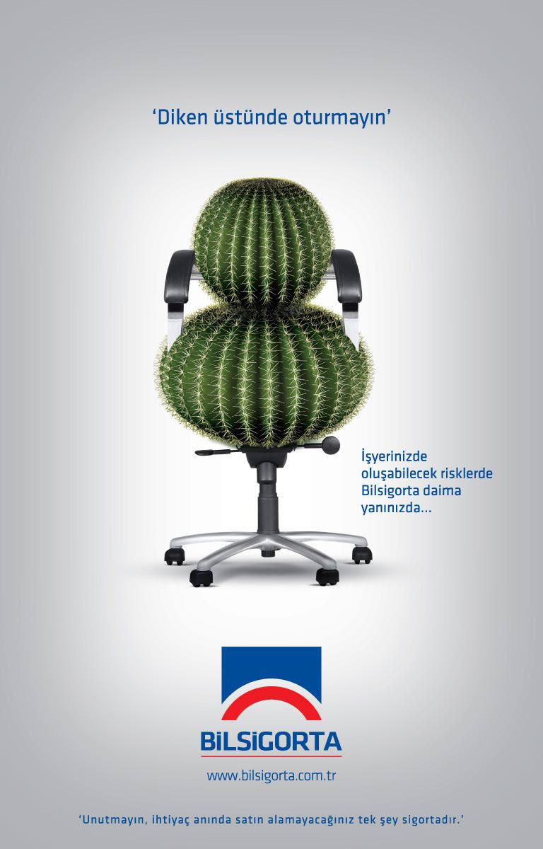 Bil Sigorta Insurance Magazine Ad On Behance