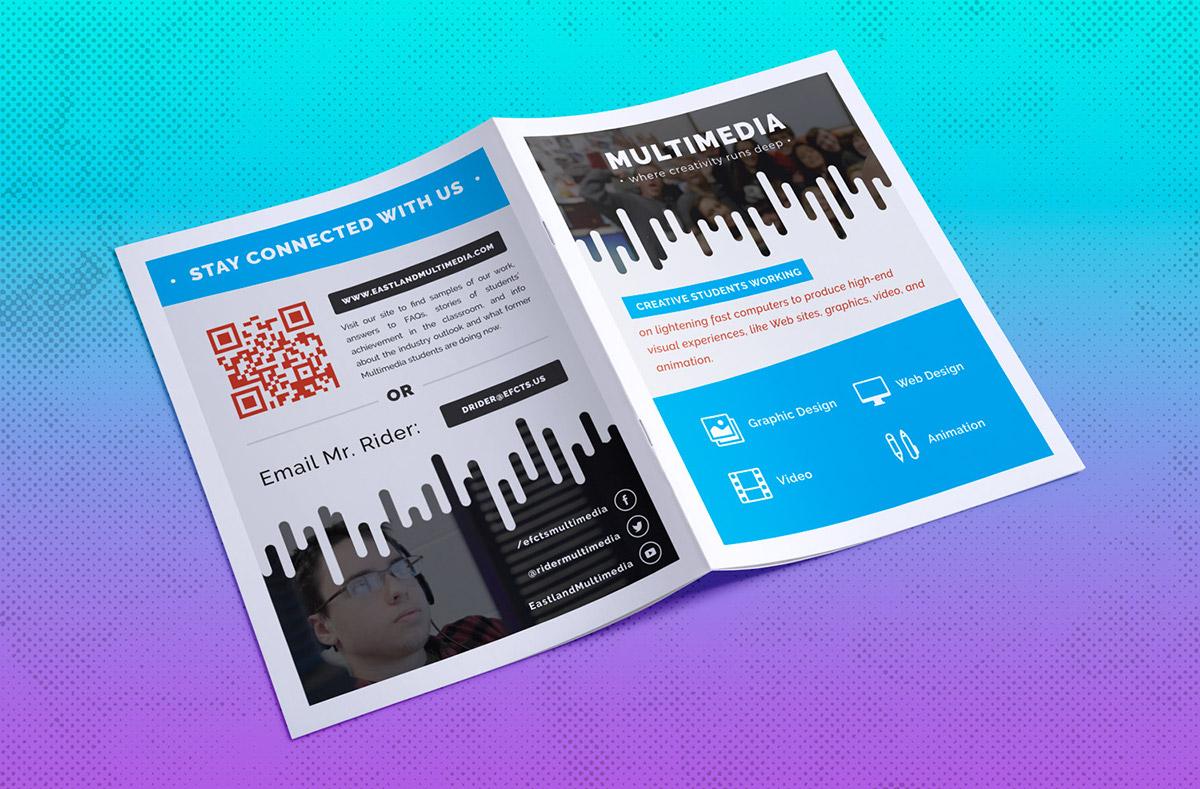 Editorial Design: Multimedia Informational Booklet on AIGA Member