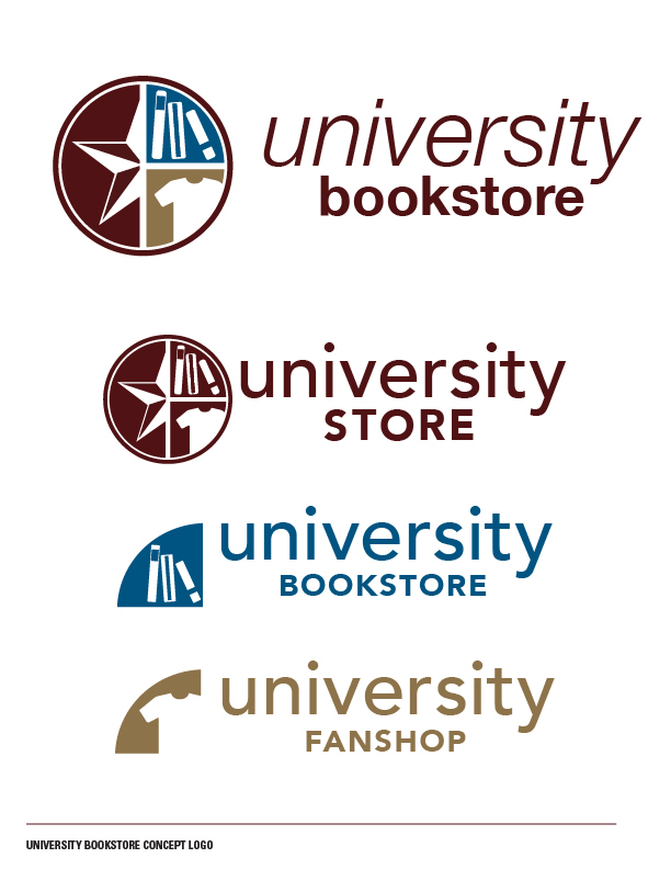 University Bookstore Concept Logo 2015 On Behance