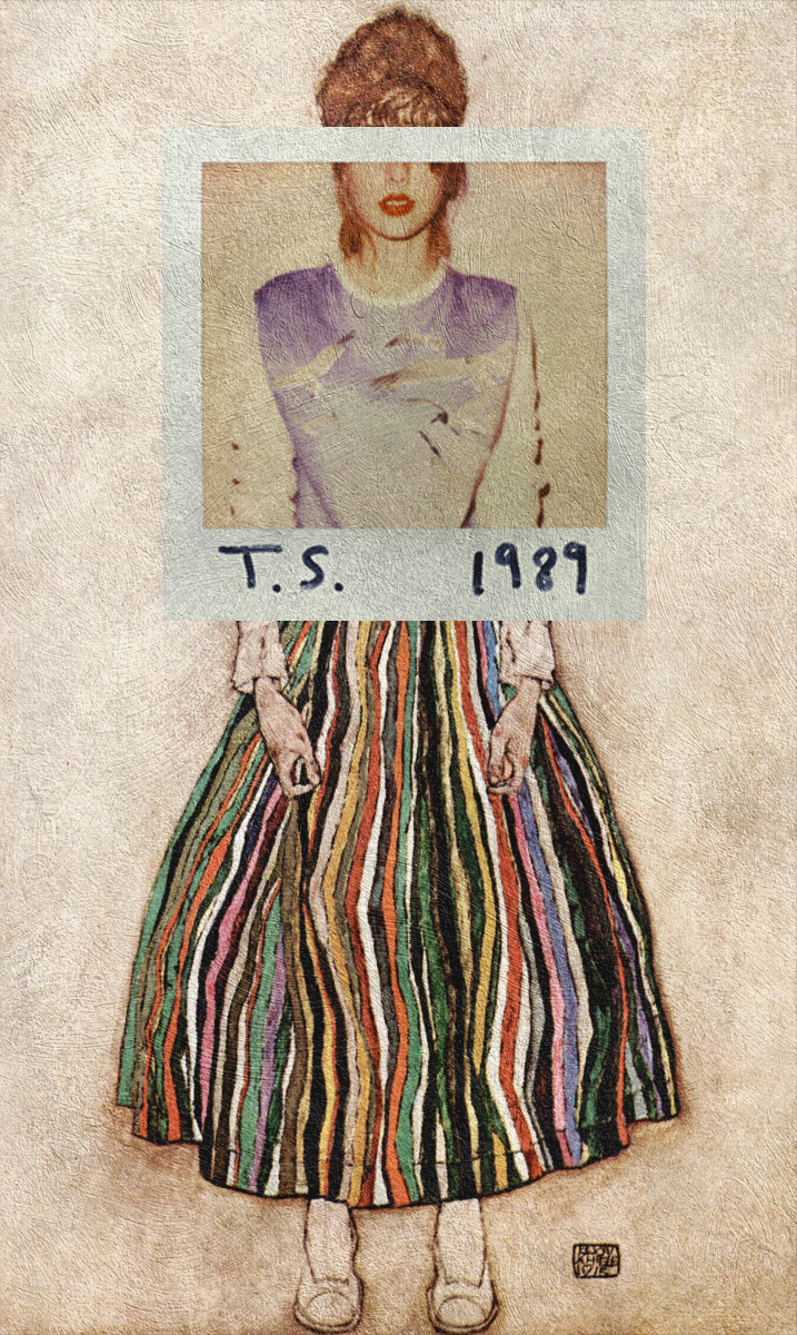 album cover Classical Art juxtaposition Digital Collage Pop Art