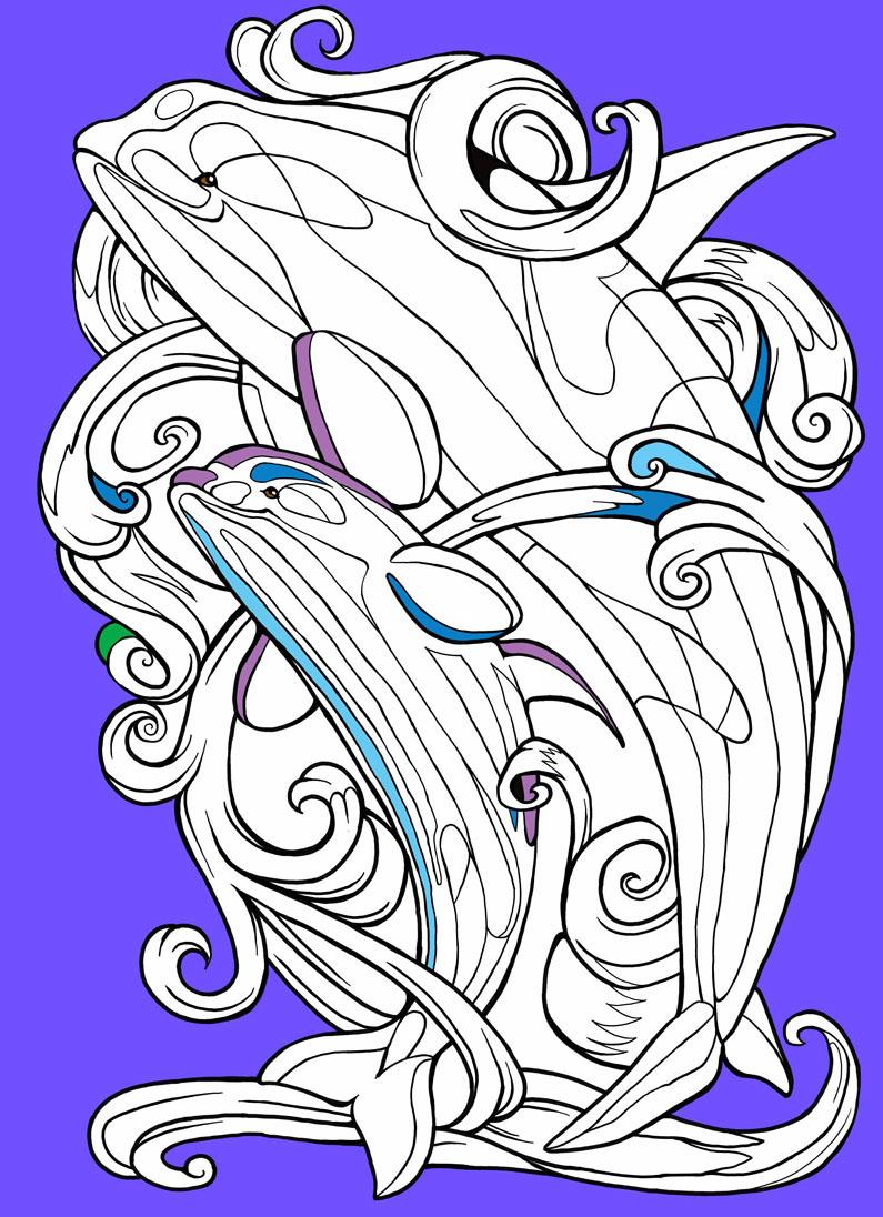 coloring book coloring by numbers colouring book children's book digital illustration painter 12 line art Digital Inking romantic motives Romanticism Ravensburger Verlag Coloring Books animals fantasy