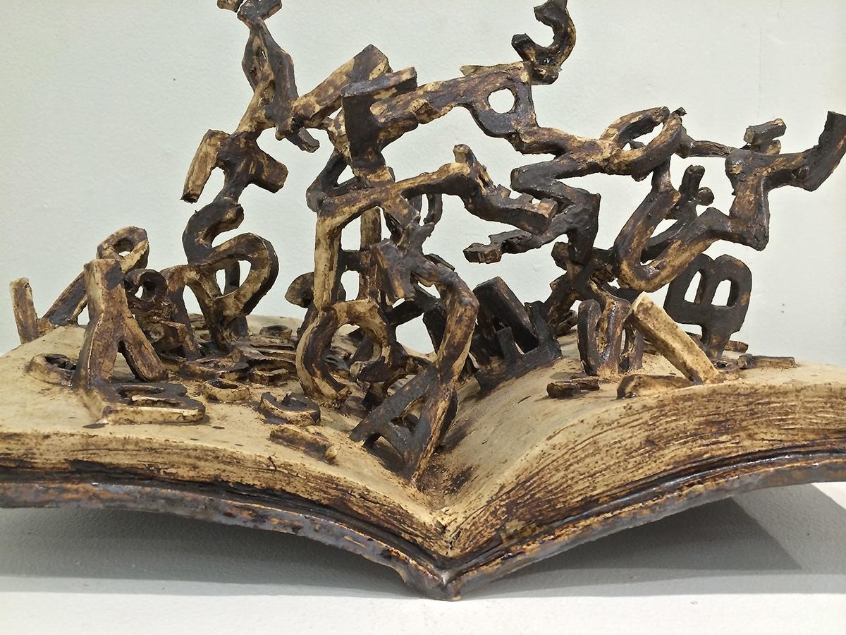 journaling book prayer antique ceramics  risd paper clay