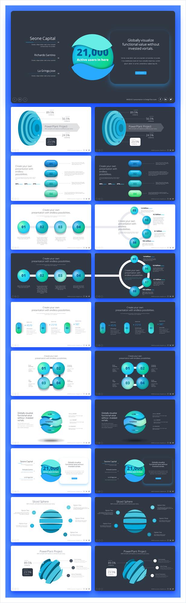 Massive X Presentation Template v.3.1 - 25