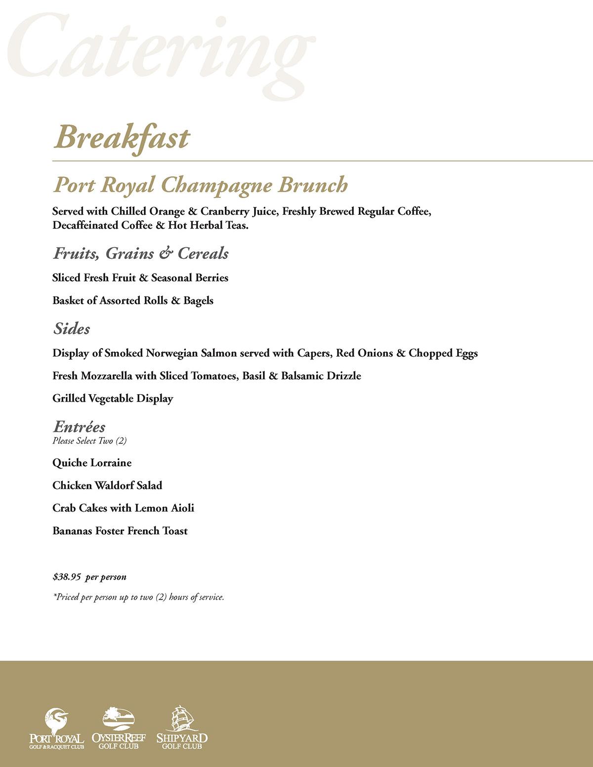 catering,food and beverage,golf,menus design