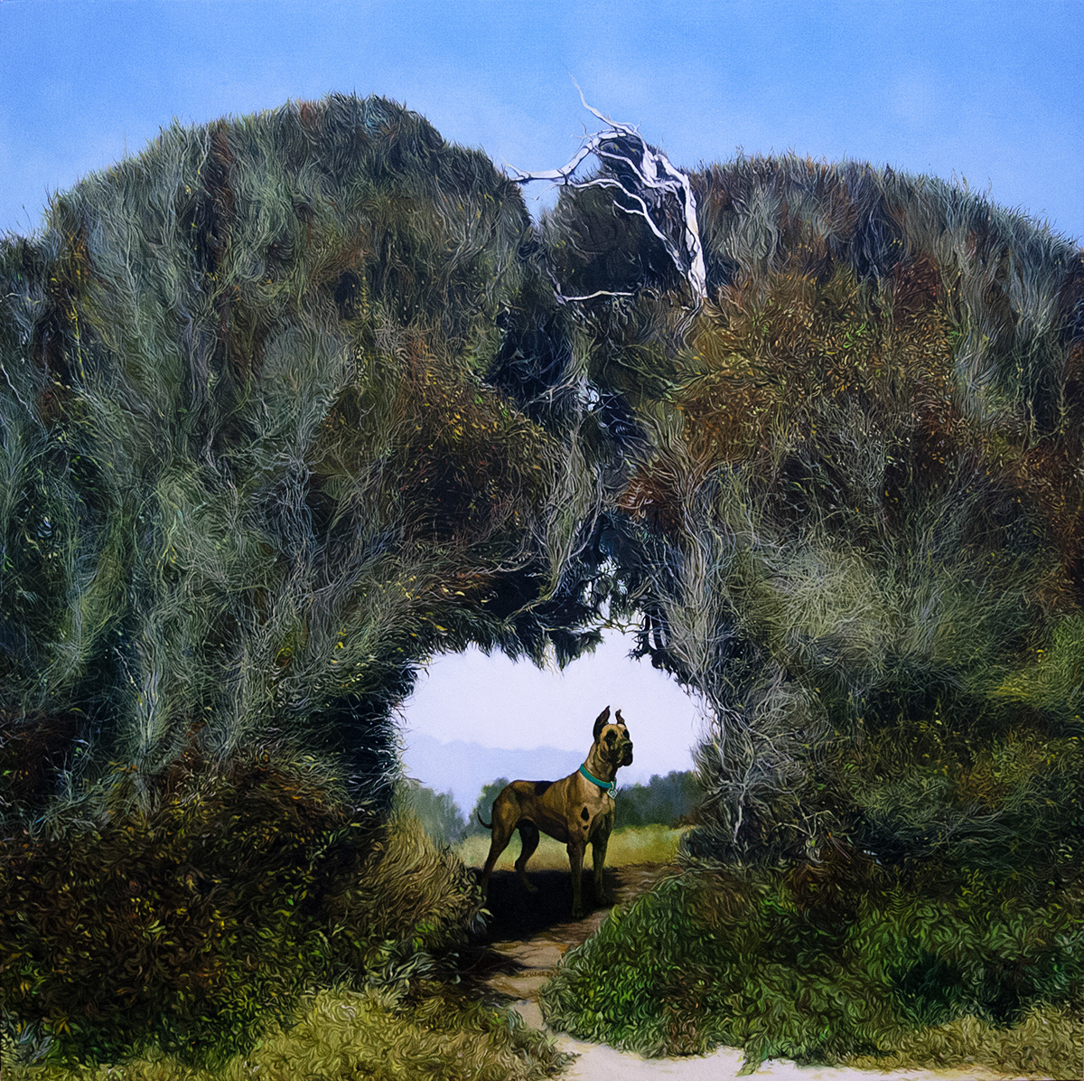 Oil Painting art jolene lai female artist graphite a beautiful haunting painting   artist installation