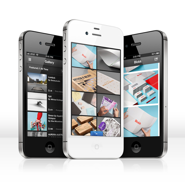 iphone app interaction network official Behance itunes projects portfolio Online Portfolio mobile portfolio creative portfolio mobile device clement faydi matias corea