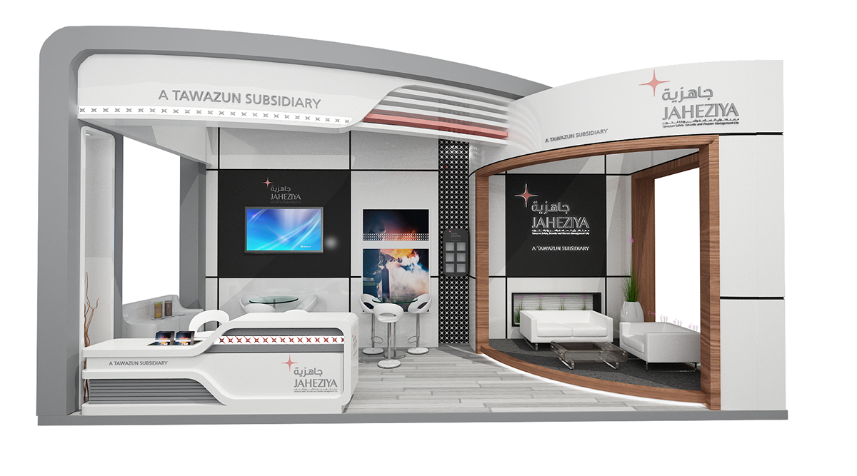 Exhibition Stand Designer Jobs In Dubai : Al jaheziya adipec on behance