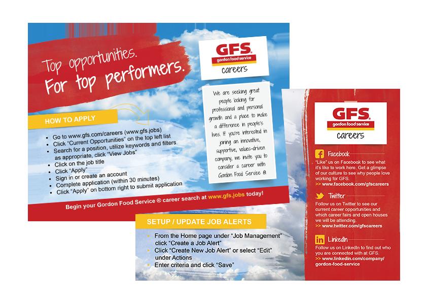 Katie Schmidt - Design Portfolio - Gordon Food Service ®