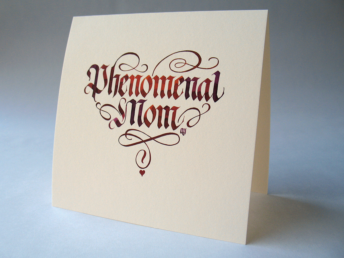 Mothers day cards on behance
