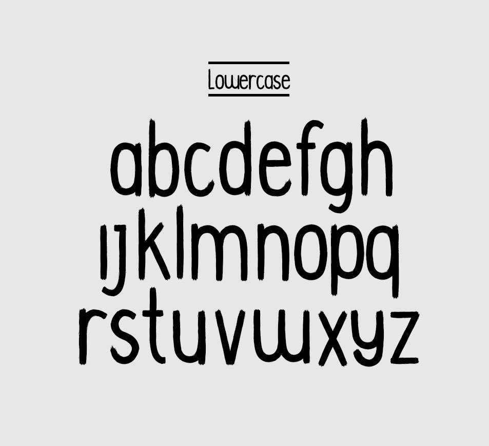 font type handmade handwritten typedesign design