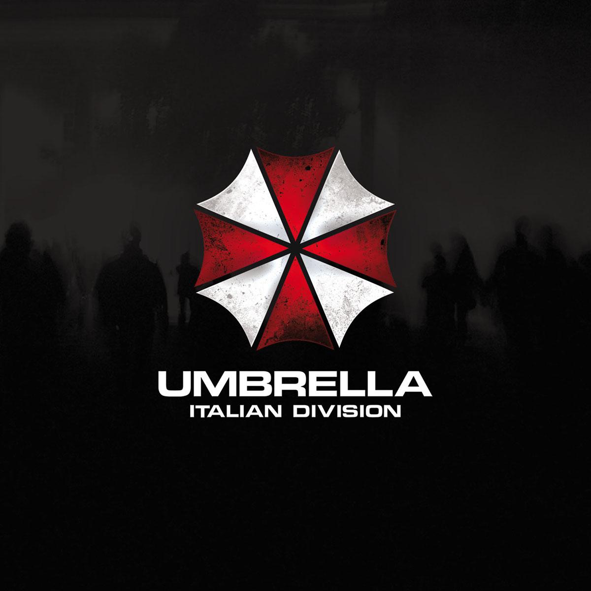 Umbrella zombie horror Show Performance entertainmant apocalyptic virus Outbreak costuming
