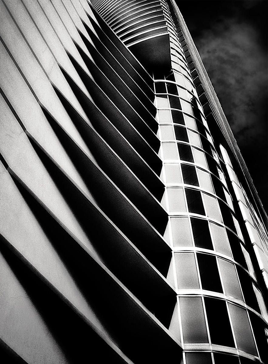 Urban Architecture skyscrapers black & white
