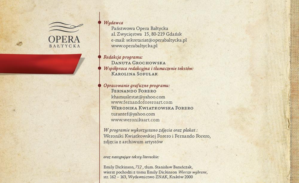 Traviata Poster Program On Behance
