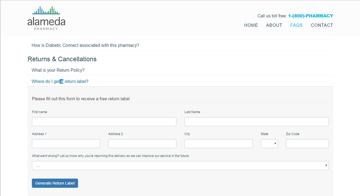 HTML front-end Web Design