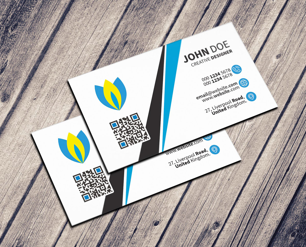 Simple business card freebie on student show simple business card freebie reheart Image collections