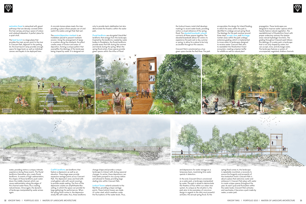 Landscape architecture portfolio on behance for Canadian society of landscape architects
