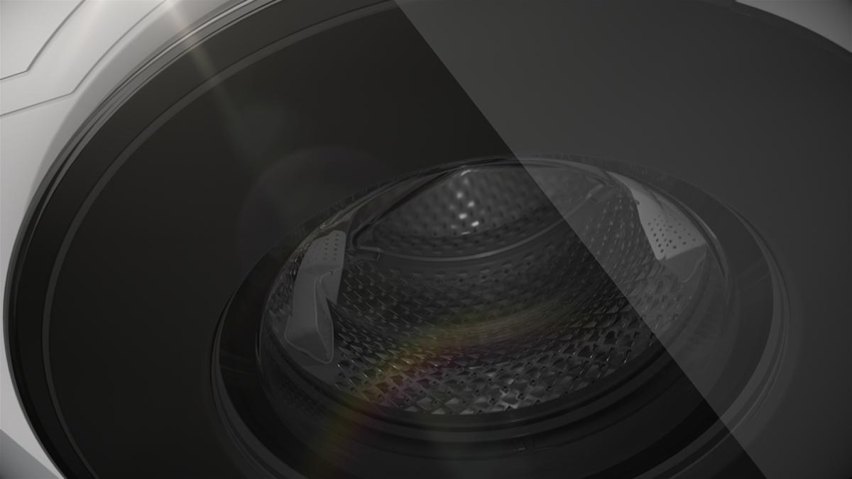 Animated Tumble Dryer ~ Beko premium laundry on pantone canvas gallery